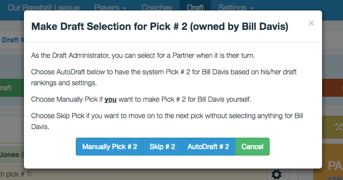 Pick For