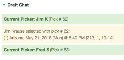 Ticket Draft Chat