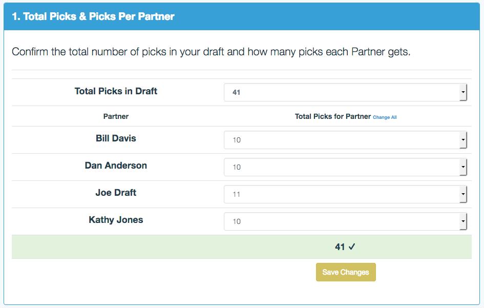 Draft Order 1