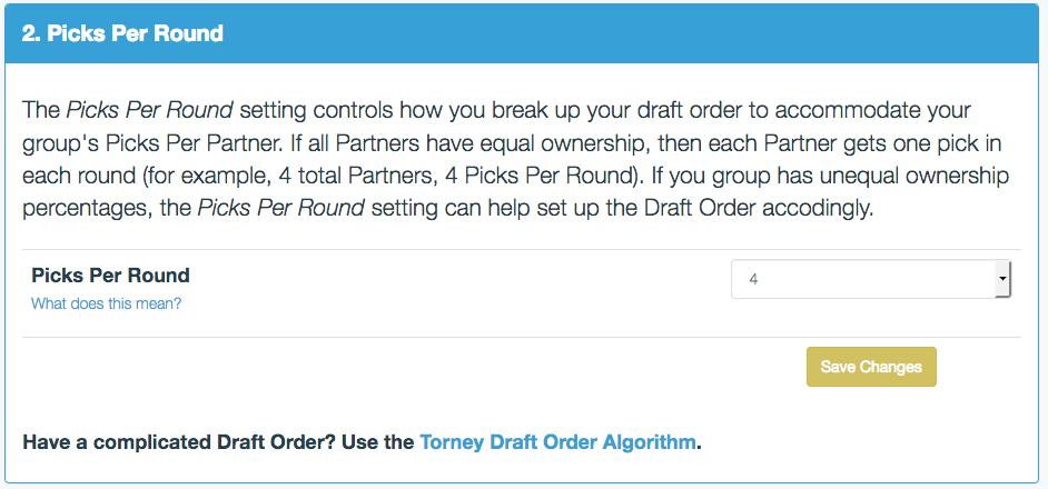 Draft Order 2